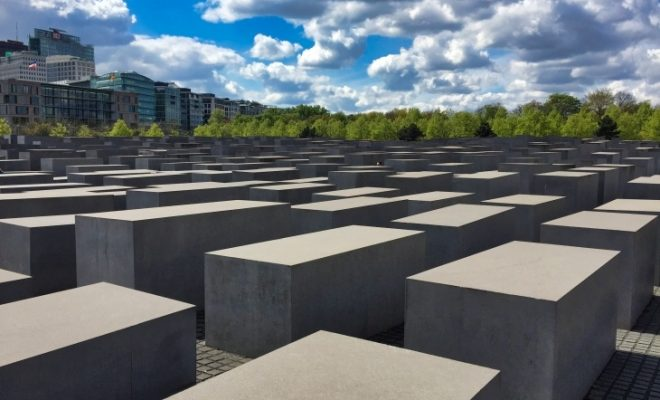Memorial to the Murdered Jews of Europe Berlin Roseanna Sunley Travel