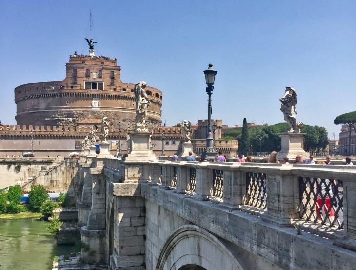 Castel Sant'Angelo roseanna sunley travel blog rome