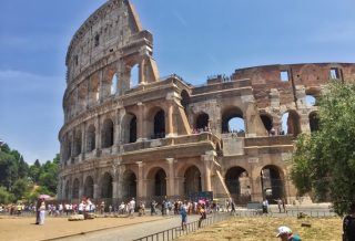 Colosseum roseanna sunley travel blog rome