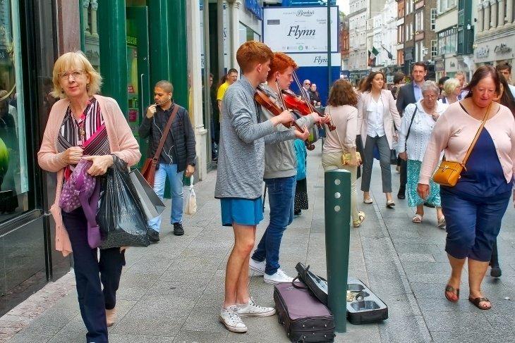 Grafton Street Dublin Roseanna Sunley Travel