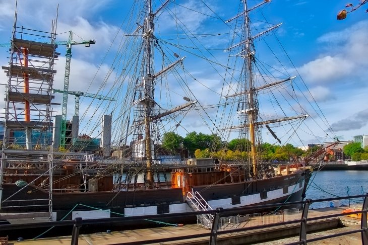 Jeanie Johnston Tall Ship (Famine Ship) Roseanna Sunley Travel Dublin