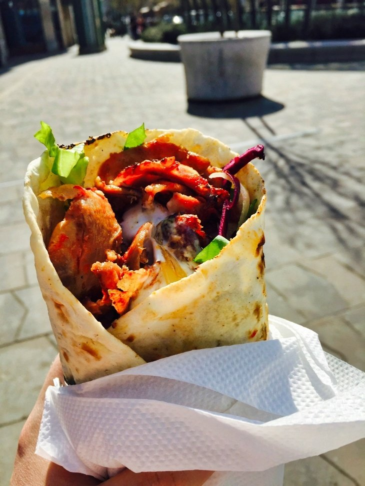 Kebab Food in Budapest Roseanna Sunley Travel