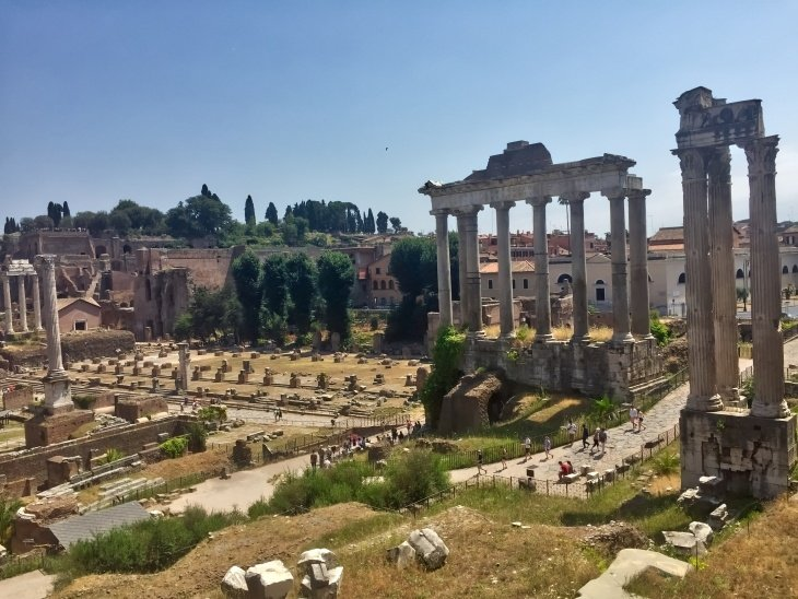 Roman Forum & Palatine Hill roseanna sunley travel blog rome