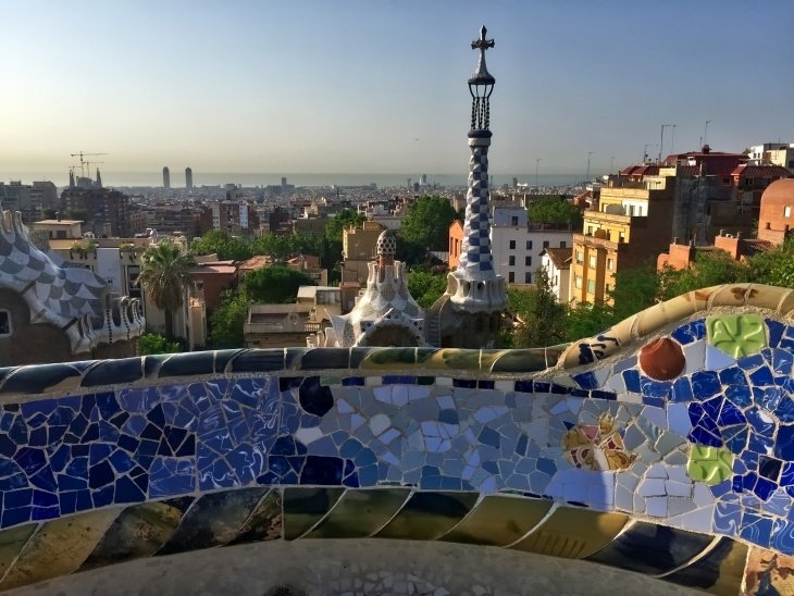 barcelona park guell roseanna sunley travel blog