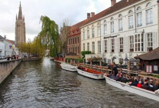 bruges canals travel blog roseanna sunley