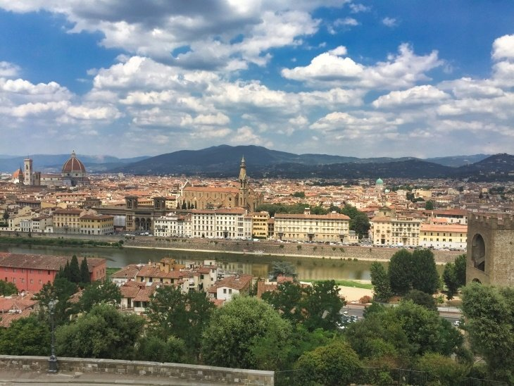 florence view roseanna sunley travel blog