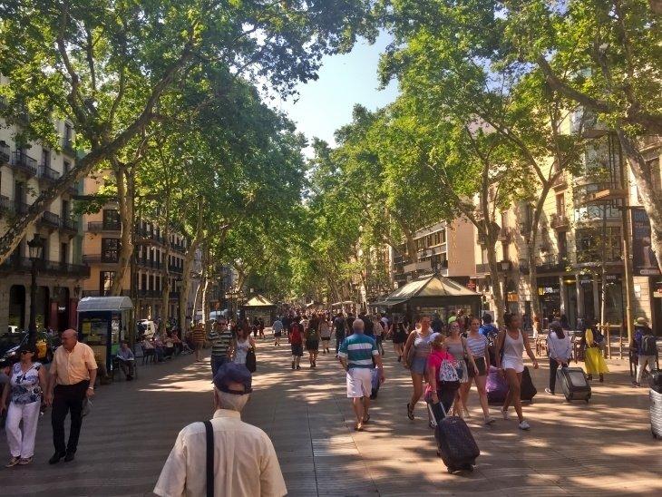 la rambla barcelona roseanna sunley travel blog