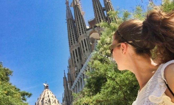 roseanna sunley travel blog in barcelona