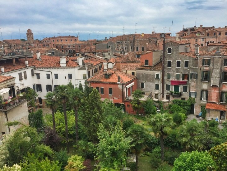roseanna sunley travel blog view from hostel venice