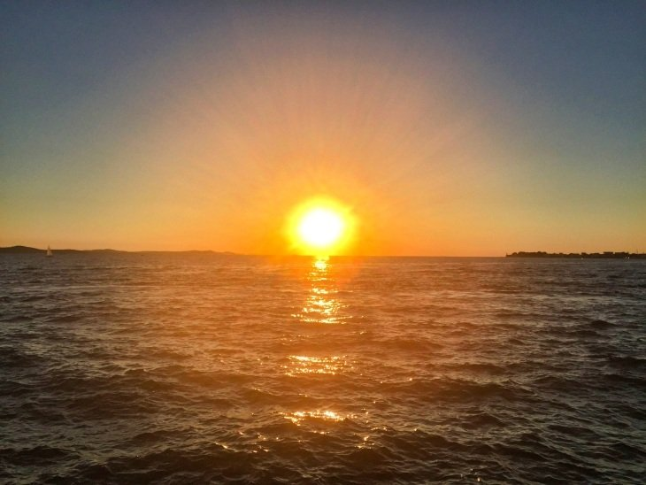 sunet in zadar croatia roseanna sunley travel blog
