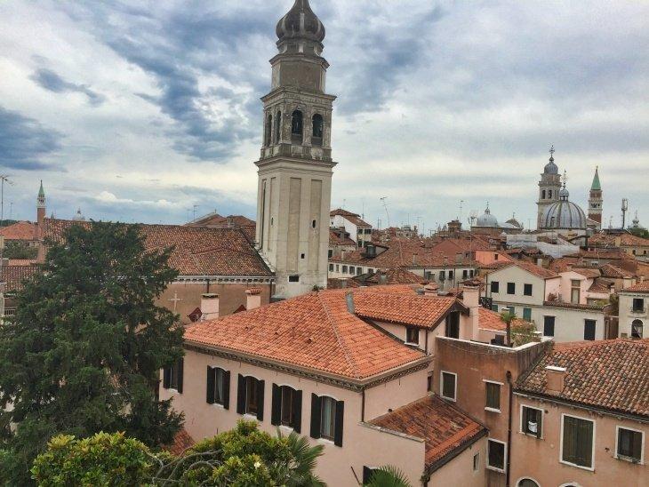 view from hostel venice roseanna sunley travel blog