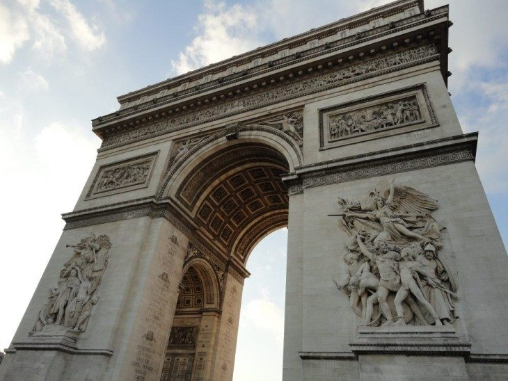 Arc de Triomphe first timers guide to paris roseanna sunley travel blog