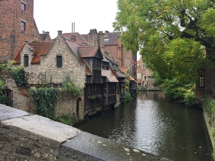 Bonifacius Bridge bruges travel blog roseanna sunley