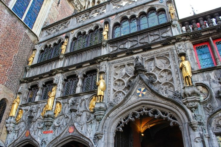 basilica of the holy blood bruges roseanna sunley travel blog