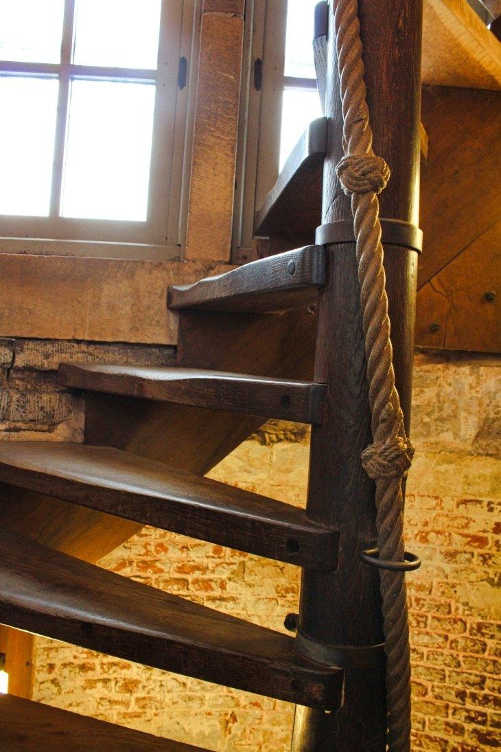befry bruges stairs roseanna sunley travel blog