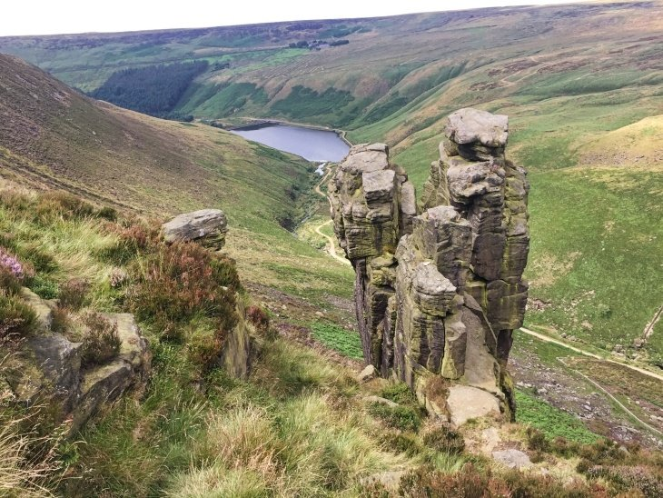 peak district dovestone reservoir travel blog roseanna sunley