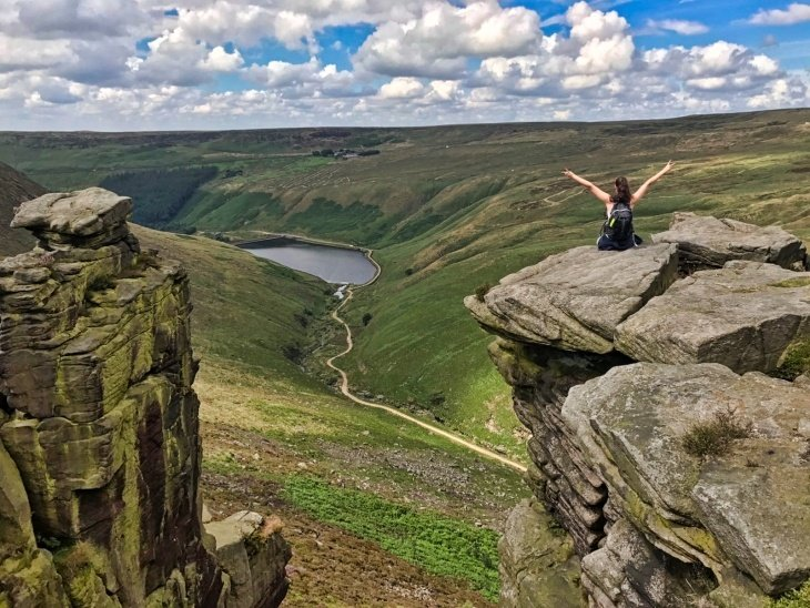 roseanna sunley travel blog hiking the peak district dovestone