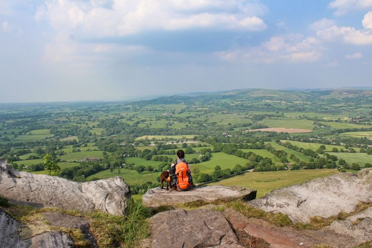 bosley cloud view roseanna sunley travel blog gritstone trail