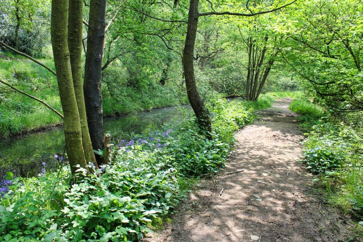 gritstone trail path roseanna sunley travel blog