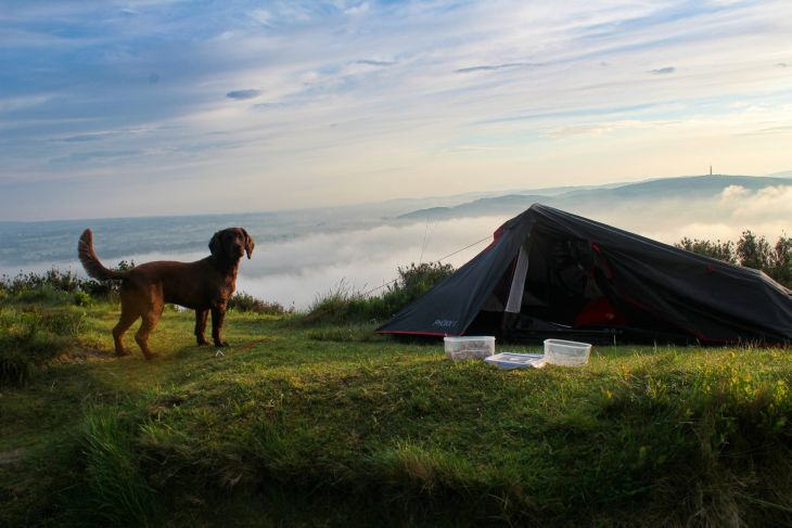 roseanna sunley travel blog wildcamping bosley cloud