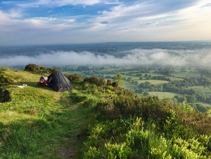roseanna sunley wild camping bosley cloud travel blog