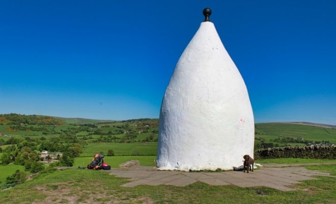 white nancy hiking the gritstone trail travel blog roseanna sunley