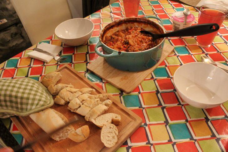 beef stew with warm crusty bread roseanna sunley travel blog
