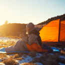 How to Stay Warm When Camping Travel